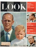 Look Magazine, April 7, 1964 - Prince Philip and Prince Andrew