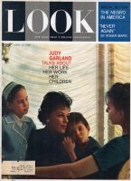 Look Magazine, April 10, 1962 - Judy Garland and her children