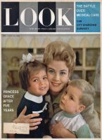 Look Magazine, April 11, 1961 - Princess Grace and her two children