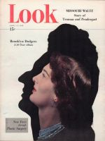 Look Magazine, April 13, 1948 - Getting a new face through plastic surgery