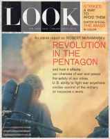 Look Magazine, April 23, 1963 - Soldier with flame thrower