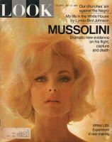 Look Magazine, May 18, 1965 - Virna Lisi'  (looks like Marilyn Monroe)
