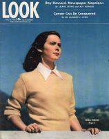 Look Magazine, May 30, 1944 - Tessa Brind by photographer John Engstead