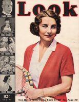 Look Magazine, June 21, 1938 - Tennis Helen Wills