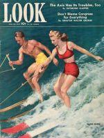 Look Magazine, June 30, 1942 - Water Skiing