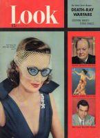 Look Magazine, July 3, 1951 - Gene Tierney in Veil-Specs