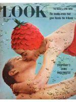 Look Magazine, July 13, 1954 - Underwater kiss