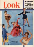 Look Magazine, July 17, 1951 - Five different dancing stars from MGM