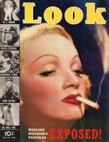 Look Magazine, July 19, 1938 - Marlene Dietrich