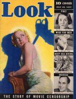 Look Magazine, July 20, 1937 - Movie Censorship