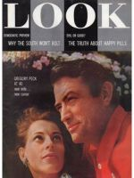 Look Magazine, July 24, 1956 - Gregory Peck and wife