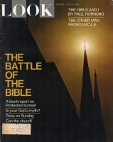 Look Magazine, July 27, 1965 - Church spires in silhouette