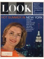 Look Magazine, July 28, 1964 - Woman on a summer night in New York