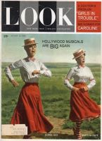 Look Magazine, August 14, 1962 - Doris Day and Martha Raye singing in a musical