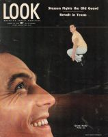 Look Magazine, August 20, 1946 - Gene Kelly, close-up and leaping