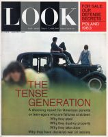 Look Magazine, August 27, 1963 - Teenagers hanging out with a car
