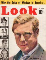 Look Magazine, August 30, 1938 - Duke of Windsor