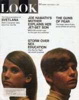 Look Magazine, September 9, 1969 - Storm Over Sex Education