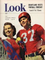 Look Magazine, September 14, 1948 - SMU beauty and football player