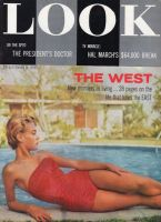 Look Magazine, September 18, 1956 - The West, new frontiers of living model Jo Anne Aehle by Milton H. Green