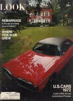 Look Magazine, September 21, 1971 - U.S. Cars 1972