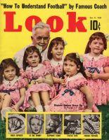 Look Magazine, October 11, 1938 - Quintuplets
