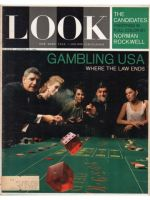 Look Magazine, October 20, 1964 - Dice being thrown at gambling table