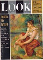 Look Magazine, November 6, 1962 - Renoir painting, Girl drying her feet