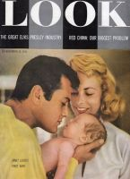Look Magazine, November 13, 1956 - Tony Curtis, Janet Leigh and her first baby