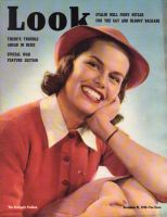 Look Magazine, November 21, 1939 - Girl in Red Sweater and Hat