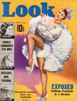 Look Magazine, November 22, 1938 - Claudette Colbert