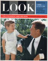Look Magazine, December 3, 1963 - The President and his son