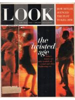 Look Magazine, December 15, 1964 - People dancing, fold-out cover