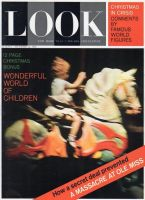 Look Magazine, December 31, 1962 - Little girl on carousel horse