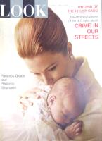 Look Magazine, June 1, 1965 - Princess Grace of Monaco holding baby Princess Stephanie