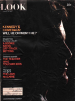 Look Magazine, August 10, 1971 - Kennedy's Comeback