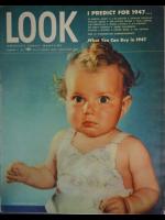 Look Magazine, January 7, 1947 - Very cute baby