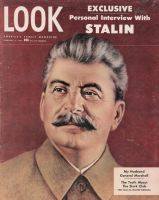 Look Magazine, February 4, 1947 - Painting of Stalin