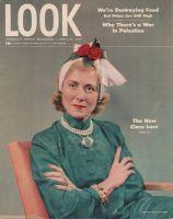Look Magazine, April 15, 1947 - Clare Luce portrait by Frank Bauman