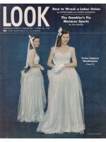 Look Magazine, April 29, 1947 - Twins in white