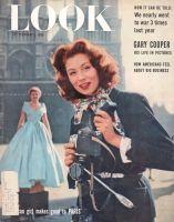 Look Magazine, February 8, 1955 - Suzy Parker