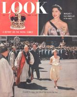 Look Magazine, April 19, 1955 - Queen Elizabeth