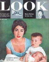 Look Magazine, June 28, 1955 - Elizabeth Taylor and Son