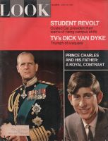 Look Magazine, April 18, 1967 - Prince Charles and Father