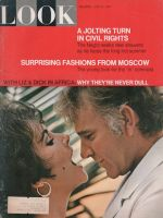 Look Magazine, June 27, 1967 - Elizabeth Taylor and Richard Burton