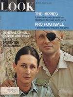 Look Magazine, August 22, 1967 - Moshe Dayan