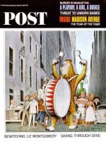 Saturday Evening Post, March 13, 1965 - Advertising Characters on Parade