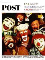 Saturday Evening Post, April 10, 1965 - Ringling Clowns