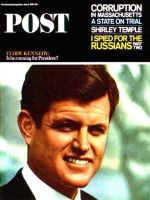 Saturday Evening Post, June 5, 1965 - Ted Kennedy