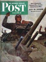 Saturday Evening Post, January 9, 1943 - Tank Attack
